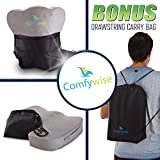 Comfywise Coccyx Orthopedic Memory Foam Seat