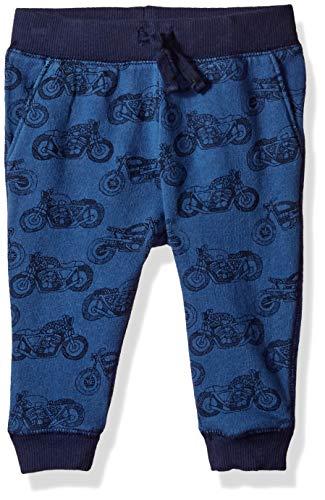 Pants Gymboree - Gymboree Baby Boys Drawstring Knit Jogger Pant, Bicycle Blue 18-24 Mo