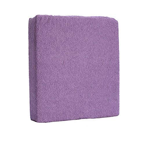 /Violet Drap-housse en tissu /éponge 160/x 70/cm pour lit Junior b/éb/é/