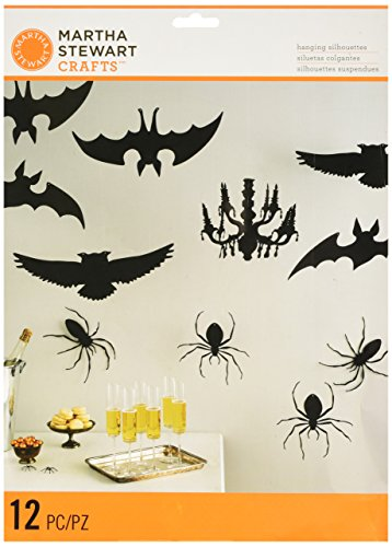 Martha Stewart Crafts Spooky Night Icon Hang Silhouette, 48-20420