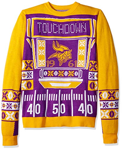 Minnesota Vikings Ugly Sweater. FOCO NFL Minnesota Vikings Mens ... b6530f214