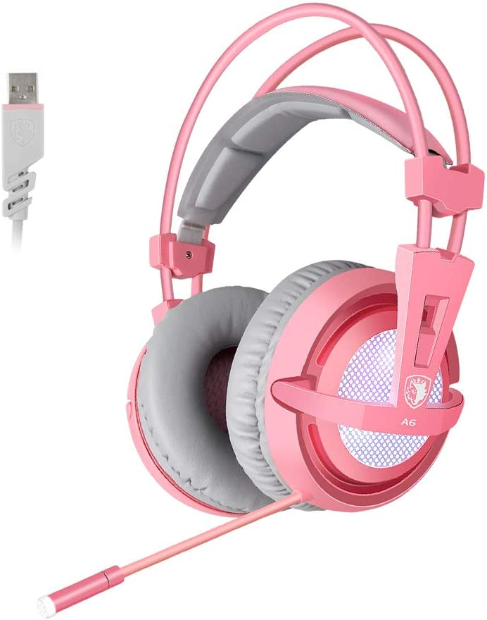 SUPSOO 7.1 Stereo Gaming Headset, Noise Cancelling Over Ear