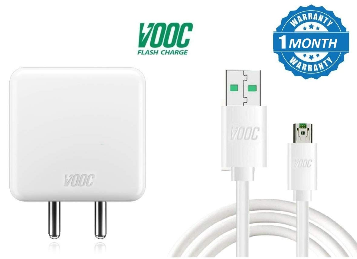 Stylo Shope 5v 4a Vooc Flash Charge Power Adapter With Kabel Data Oppo Fast Charging Original Electronics