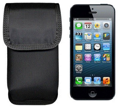 Ripoffs CO-i5 - Durable Nylon Holster for iPhone 5, used for sale  Delivered anywhere in USA