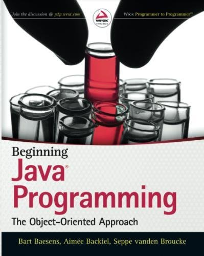 Beginning Java Programming: The Object-Oriented Approach by imusti