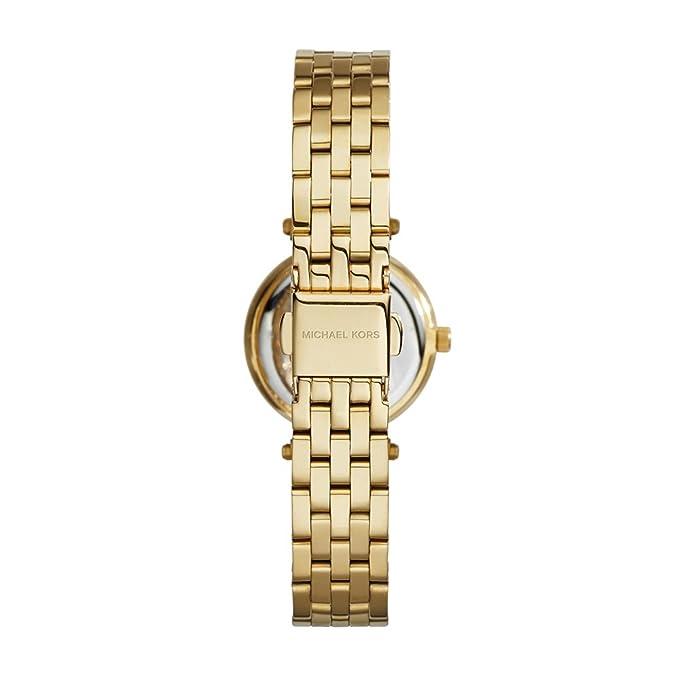 3f27e5769e81 Amazon.com  Michael Kors Women s Darci Gold-Tone Watch MK3295  Michael Kors   Watches