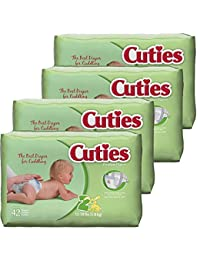 Cuties Baby Diapers, Size 2, 42-Count, Pack of 4 BOBEBE Online Baby Store From New York to Miami and Los Angeles