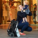 Babysing S-GO Folding Portable Multifunctional Baby Umbrella Stroller, Super Lightweight Shock Suspension Design Infant Pushchair With Canopy (Busy Cowboy)