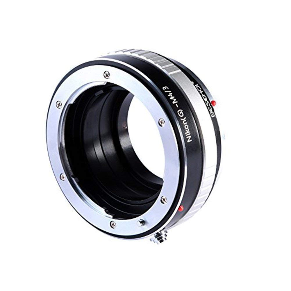 G Adaptador AI -M4//3 Beschoi Adaptador de Montaje de Lentes Adaptador para Nikon G AF-S F a Micro 4//3 M4//3 Adaptador de Montura G-M4//3
