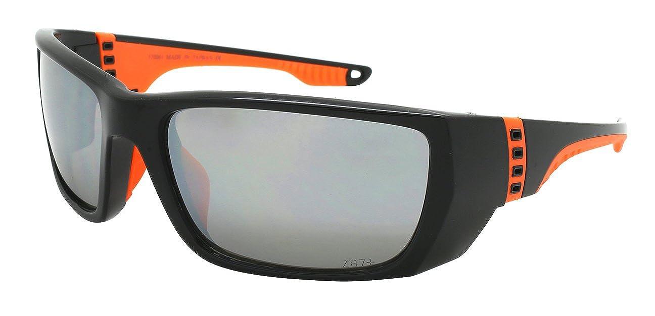 Edge I-Wear Sports Safety Sunglasses ANSI Z87+ Color Mirror Lens 570061/REV 570061/REV-1