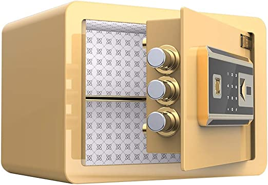 Prevención Huella Digital Segura Hogar Pequeña Caja Fuerte Oficina ...