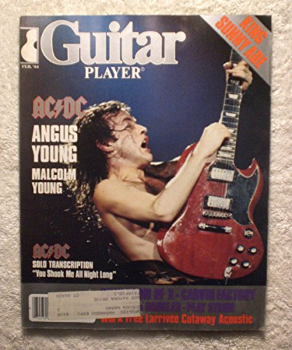 Player Young - AC/DC - Angus Young - Guitar Player Magazine - February 1984