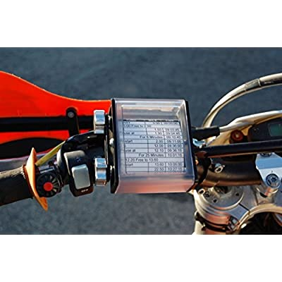 Enduro Engineering Side Load Route Sheet Holder Black Dual Sport 14-053: Automotive