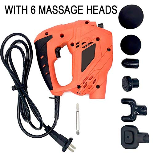 Fascia Massager,Muscle Massage Gun,Percussive Massager- Body Relaxation/Recovery Promote Blood Circulation Electric Deep Tissue Massager