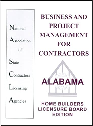 Alabama Business and Project Management for Contractors