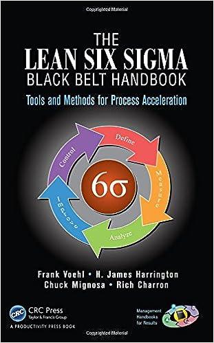Amazon.com: The Lean Six Sigma Black Belt Handbook: Tools and ...