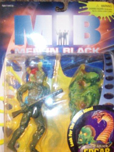 Man 12' Collectible Figure - Alien-Attack Edgar Deluxe Action Figure - MIB: Men In Black - Look for the Hidden Alien!