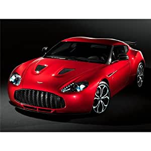 Aston Martin V12 Zagato (32inch x 24inch / 80cm x 60cm) Silk Printing - Silk Print Poster - 4E0007