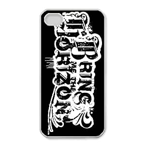 Special Design Cases iPhone 4,4S Cell Phone Case White Rebtn Bring Me the Horizon Durable Rubber Cover