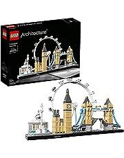 LEGO 21034 Architecture London Arkitektur Byggsats med Big Ben och London Eye, Gåva till Alla 12+ år
