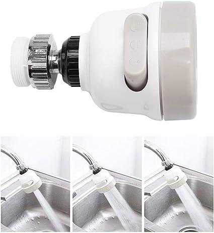 Cabezal De Grifo Kichen Filtro De Grifo Giratorio Ajustable De 360 /° para Grifo De Ahorro De Agua Rociador De Grifo Extensor De Ahorro De Agua para Ba/ño De Cocina