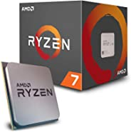 AMD Ryzen 7 2700 Processor with Wraith Spire LED Cooler - YD2700BBAFBOX