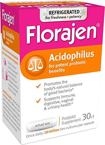 Florajen Florajen Acidophilus, 30 caps (Pack of 2) by Florajen