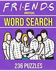 Friends Unofficial Word Search 236 Puzzles: One For Every TV Episode