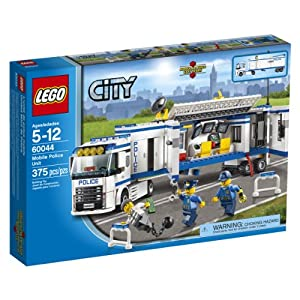 Amazon.com: LEGO City Police 60044 Mobile Police Unit: Toys & Games