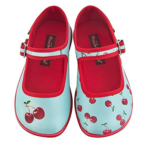 Hot Chocolate Design Mini Chocolaticas Cherry Girls Mary Jane Flat