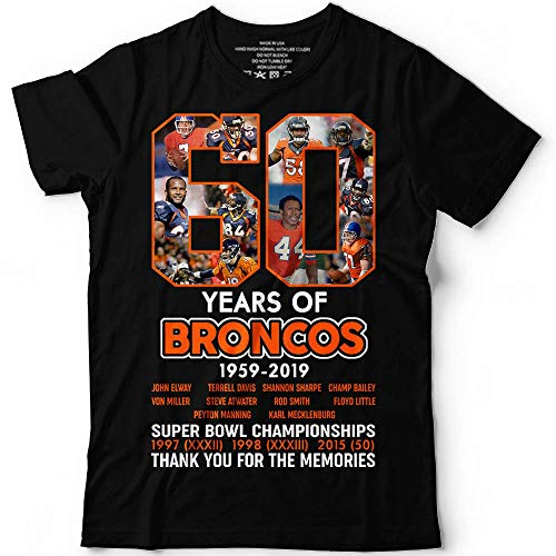 60 Years Of Denver 1959-2019 Football Memories Thank-You Orange Shirt Customized Handmade Hoodie/Sweater/Long Sleeve/Tank Top/Premium T-shirt ()