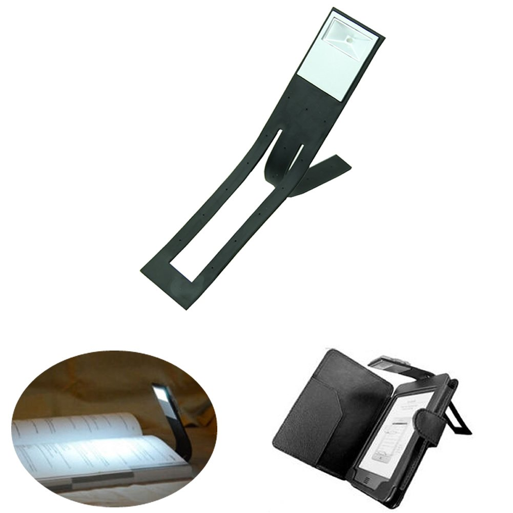 Hergon Lámpara de lectura con clip para lector Kindle, luces de ...