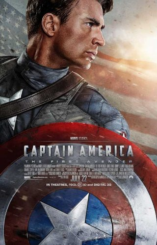 Captain America: The First Avenger 27 x 40 Movie Poster - Style B