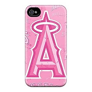 iphone covers Durable Cell-phone Hard Cover For Iphone 5c (XYU2148nZzX) Unique Design Trendy Los Angeles Angels Pattern WANGJING JINDA