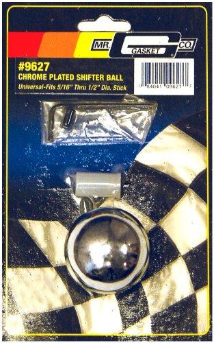 Shifter Chrome Ball - Mr. Gasket 9627 Chrome Plated Shifter Ball