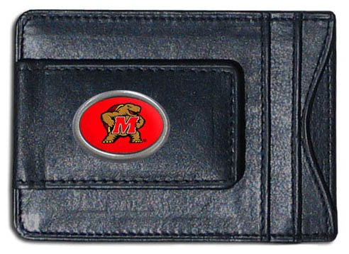 (NCAA Maryland Terps Cash and Card Holder )