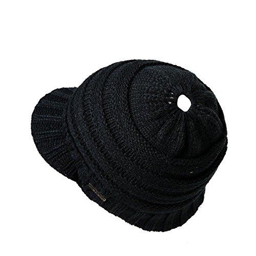 SMALLE ◕‿◕ Clearance, Men Women Baggy Warm Crochet Winter Wool Knit Ski Beanie Skull Slouchy Caps Hat (Nike Wool Beanie)