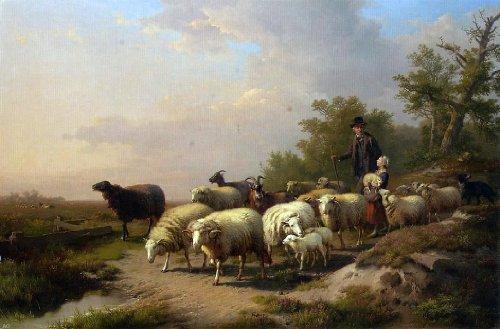 (Anton Mauve Tending the Flock - 18.05