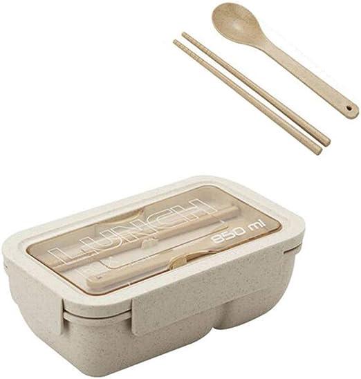 Lunch Bento Box Meal Prep, Se Pueden Meter En El Microondas, Caja ...