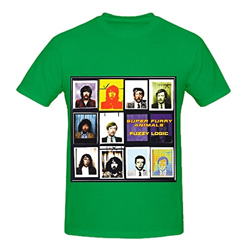 super-furry-animals-fuzzy-logic-rock-album-cover-mens-crew-neck-big-tall-shirt-green