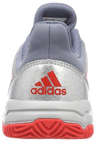 X 000 Gris Unisex Zapatillas Plamet de Niños Balonmano Roalre Acenat Stabil Adidas PqFx075P