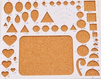 Papel Quilling Kit incluye 36/Color 900/Strips Tiras de 3/mm de ancho y 10/herramientas para filigranas de papel para filigranas para quilling Arte