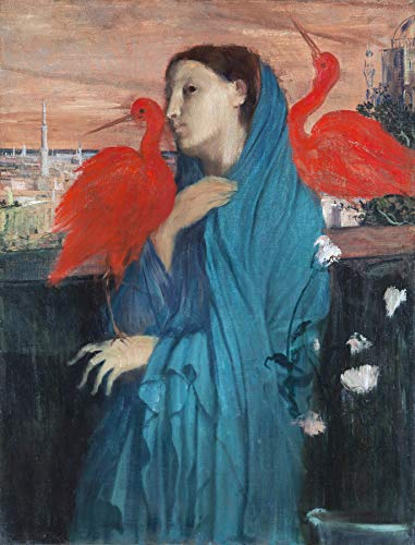 Edgar Degas Young Woman with Ibis Metropolitan Museum of Art, New York 30