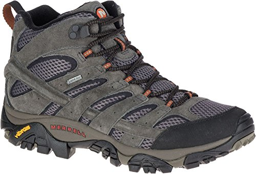 Merrell Moab 2 LTR Mid Gore-Tex Leather Mens Hiking Walking Boots Shoes, Colour Beluga J18419
