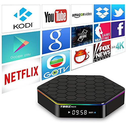 Galleon - 2019 Newest Official T95Z Plus Android TV Box 3GB