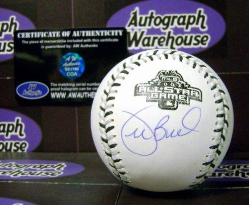 2003 All Star Baseball Ball - Joe Buck autographed 2003 All Star Game baseball