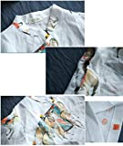 YESNO E89 Girls Casual Retro Floral Blouse Shirts