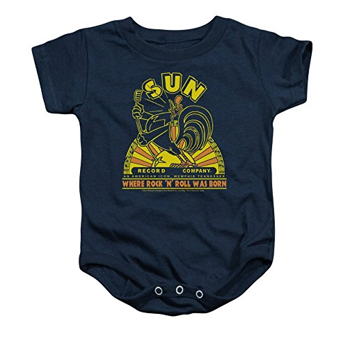 Sun Records Rooster Baby Onesie 18m (Rooster Sun)