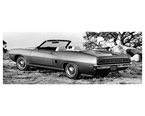1970 Ford Torino GT Convertible Automobile Photo Poster