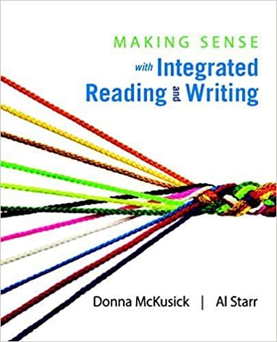 Book Making Sense with Integrated Reading and Writing by Donna McKusick (2015-02-06)